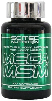 Mega MSM 100 caps.