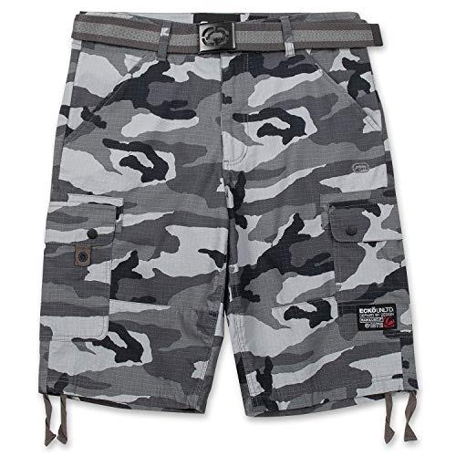 Ecko Unltd. Big & Tall Shorts for Men, Mens Cargo Shorts with Belt Street Camo 38