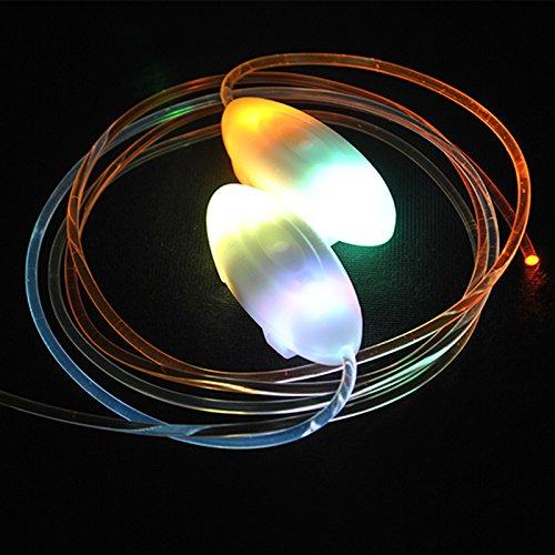HEEGNPD Party Schaatsen Charmante LED Flash oplichten gloed schoenveters schoen veters schoenen,7