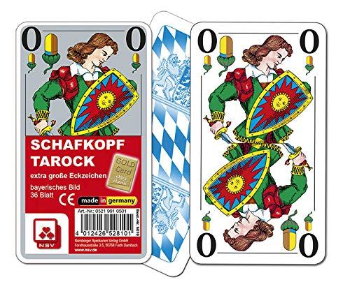 NSV - 6010 - Schafkopf extra classic - extragroße Eckzeichen