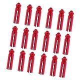 sharprepublic 18x Protectores Anodizados Plumas Savers Red Accesorios Hobby