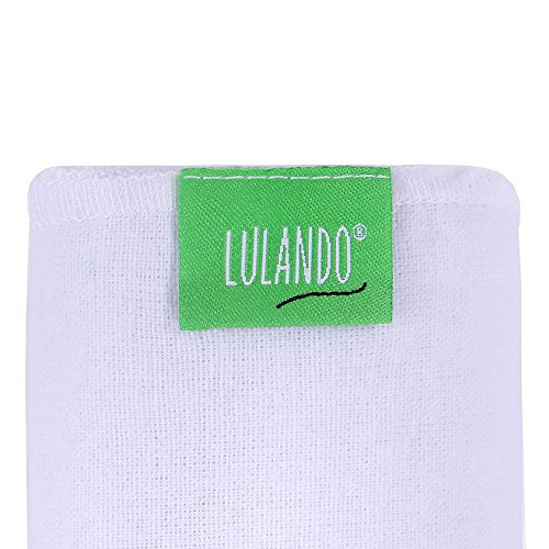 Lulando Baby Flannel Squares 5 Pack (70x80cm)