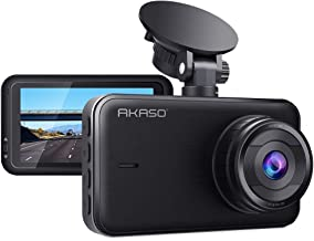 AKASO C320 Dash Cam 1080P FHD 3 Inches IPS Screen, DVR Car Dash Camera Video Driving Recorder with 170 Degrees Wide Angle, Built in Loop Recording, Parking Monitor, G-Sensor, WDR, Night Vision