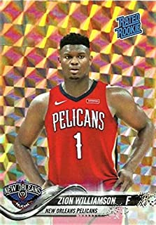2019 ZION WILLIAMSON Rookie Basketball Card - Custom Mosaic Rated Rookie - #1 Draft Pick New Orleans Pelicans