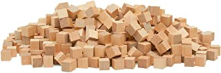 Wooden Cubes 1/2 Inch, Bag of 100, Natural Unfinished Craft Wood Blocks, by Woodpeckers
