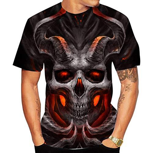 SSBZYES Camiseta para Hombre, Camiseta De Verano De Manga Corta para Hombre, Camiseta De Cuello Redondo para Hombre, Camiseta con Estampado De Moda para Hombre, Camiseta De Gran Tamaño para Hombre