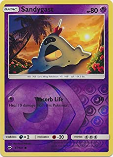 Sandygast - 61/147 - Common - Reverse Holo - Sun & Moon: Burning Shadows