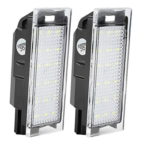 Fydun Luci targa Luce targa a LED 2PCS 1.8W per Clio Espace Laguna Megane