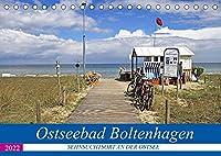 Ostseebad Boltenhagen - Sehnsuchtsort an der Ostsee (Tischkalender 2022 DIN A5 quer): Boltenhagen - das schoenste Ostseebad in Mecklenburg (Monatskalender, 14 Seiten )