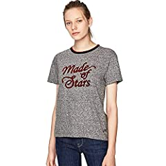 Pepe Jeans Camiseta de Manga Corta Color Gris para Mujer