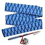 Tubo retráctil para caña de Pescar, Cinta Antideslizante, para Mango de caña de Pescar(35 mm * 1 m)