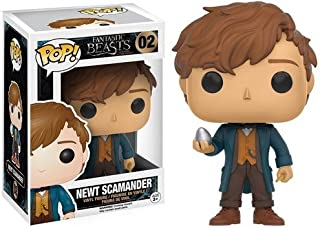 Funko POP Movies: Fantastic Beasts - Newt w/Egg Action Figure