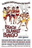 MariposaPrints 67361 Beach Blanket Bingo Movie Frankie Avalon Decor Wall 36x24 Poster Print