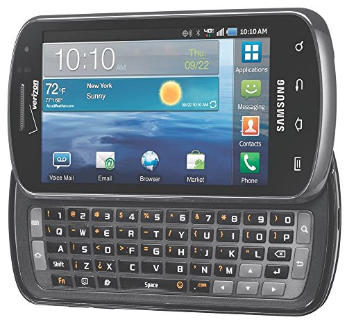 Samsung Stratosphere I405 4G LTE Verizon CDMA Android Slider Cell Phone - Black