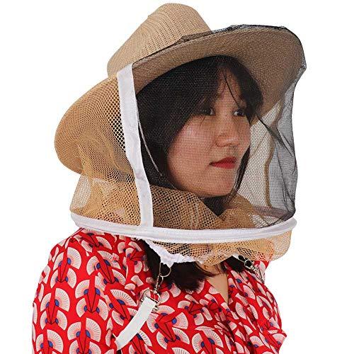 M.Z.A Bienenenzucht Cowboyhut Imker Hut Schleier Gartenschutz Anti Mückenschutz Insektennetz Schleier Gesichtsschutz