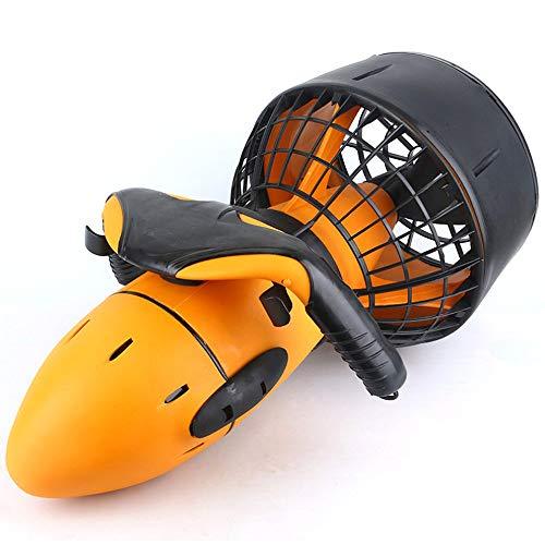 vbva Seascooter,Unterwasserscooter Tauchscooter,Elektrischer Wasserscooter, wasserdichter 300W Seescooter Dual Speed Power Thruster Wasserspiel-Drücker für den Wassersport*
