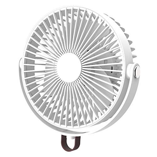 xllLU Ventilador de camping multifuncional con trípode flexible LED linterna portátil ganchos para tienda de campaña para tienda de campaña de coche, RV, soporte de montaje de rejilla