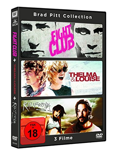 Brad Pitt Collection (inkl. Fight Club, Kalifornia, Thelma & Louise) (3 DVDs)