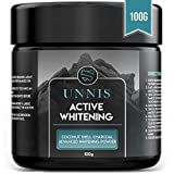 Blanchiment Dentaire Professionnel Charbon Actif Poudre Blanchisseur de Dents Blanches Dentifrice Blanchissant Poudre de Charbon Blanchissante Teeth Whitening Activated Charcoal Powder