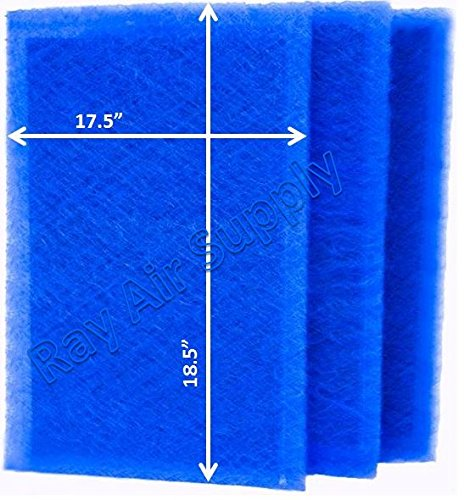Affordable RAYAIR SUPPLY 20x20 ARS Rescue Rooter Air Cleaner Replacement Filter Pads 20x20 Refills (...