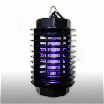 Relaxdays Désinsectiseur Destructeur d?insectes électrique/ protection piège anti Moustiques insectes/ 230 V/ 4W, lampe