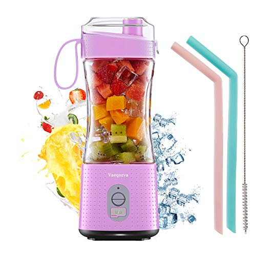 Portable Blender Personal USB Rechargeable Juice Cup for Smoothie and