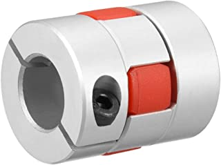 uxcell Shaft Coupling 14mm to 14mm Bore L35xD30 Flexible Coupler Joint for Servo Stepped Motor