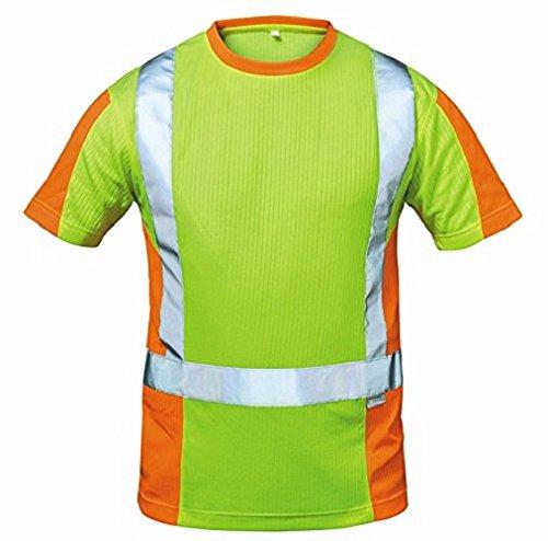 Elysee 22715-XL Warnschutz T-Shirt Utrecht Größe XL in gelb/orange
