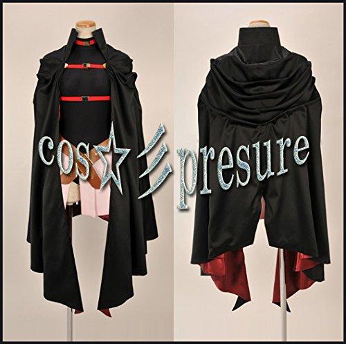 『518 【cos-presure】魔法少女リリカルなのは フェイト・テスタロッサ 風☆彡コスプレ衣装』の1枚目の画像