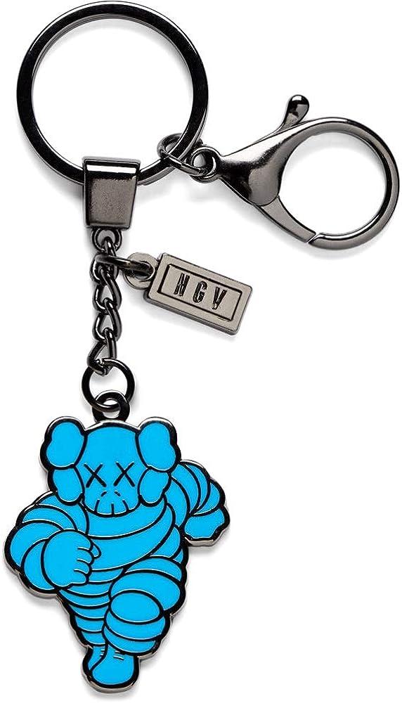 KAWS Blue Chum Keyring Keychain NGV