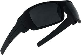 Classic Old School Wrap Around Sport Mad Dogger Soft Frame Super Dark Sunglasses