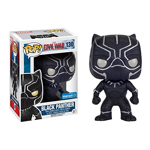 Funko POP!: Marvel: Captitán América: Civil War: Black Panther Exclusivo