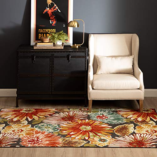 Mohawk Home Floral Charm Area Rug, 7'6x10', Multi