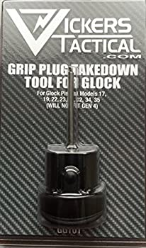 Tango Down Vickers Tactical Grip Plug Takedown Tool for Glock GEN 3 19 17 22 23 31 34 35  GGT-01