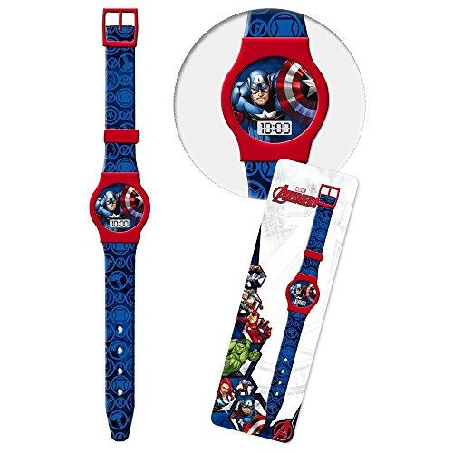 Star Licensing Orologio Avengers Marvel Supereroi da Polso Digitale CONF. CM 23 - 41438BLU