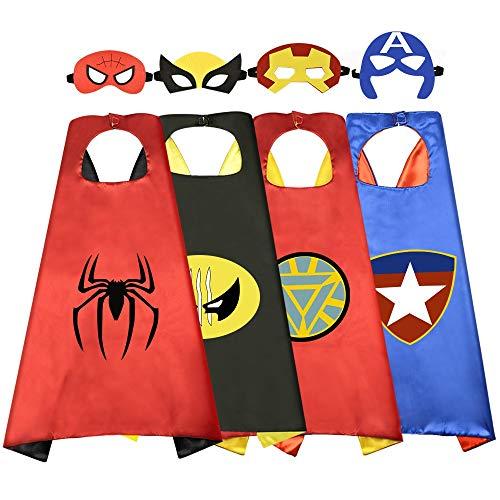 Easony Spielzeug für Jungen 3-12 Jahre, Superhelden Kinderkostüm Jungen Geschenke 3-12 Jahre Spielzeug für Jungen Mädchen 3-12 Jahre Geburtstagsgeschenk für Mädchen 3-12 Jahre