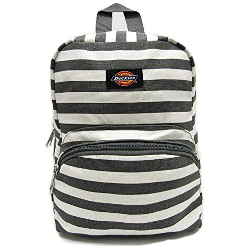 Dickies Canvas Mini Backpack Charcoal Stripe