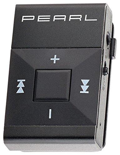 auvisio Kleiner MP3 Player: Mini-MP3-Player mit Alugehäuse und Clip, microSD-Slot bis 32 GB (Mediaplayer)