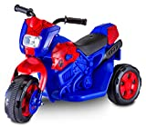 Kid Trax Toddler Marvel Spider-Man Electric Motorcycle Ride On Toy, Kids 1.5-3 Years Old, 6 Volt Battery and Charger Included, Max Weight 45 lbs, Spider-Man Motorcycle