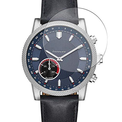 Vaxson 3 Unidades Protector de Pantalla de Cristal Templado, compatible con Michael Kors Access Scout smartwatch Smart Watch, 9H Película Protectora