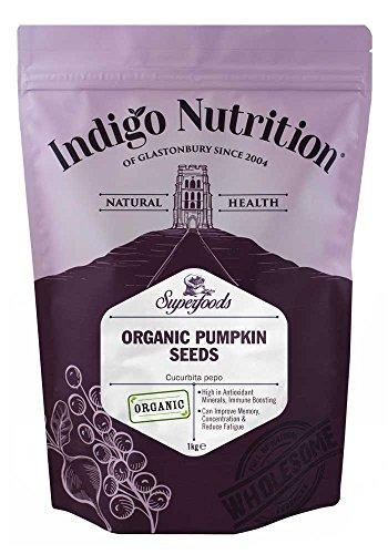 Indigo Herbs Semi di Zucca Biologici 1kg