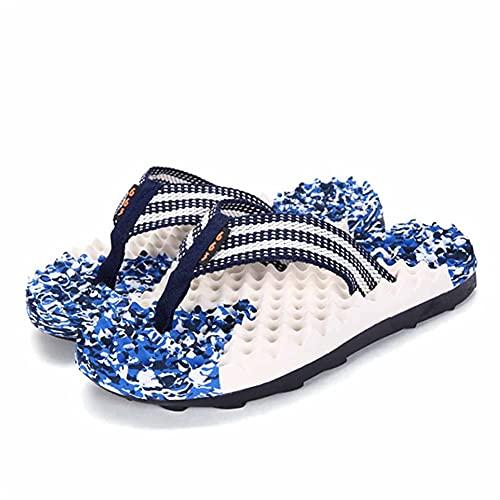 ZOGBX Zapatillas para Mujer Zapatillas De Acupresión De Los Hombres Masaje De Pies Flip Flaks Baño Slippers Non Slips Quick Seco Travel Portátil Zapatillas Tangas Slippers Sandalias De Playa