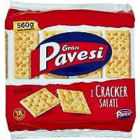 Gran Pavesi - Cracker salado - 560 gr