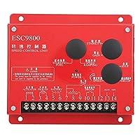 スピードコントローラー、ユニットスピードコントローラー、電子スピードコントロールボード、調整可能な定常速度、スピードクローズドループコントロールシステム、動力表示、エンジンESC9800用(24V)