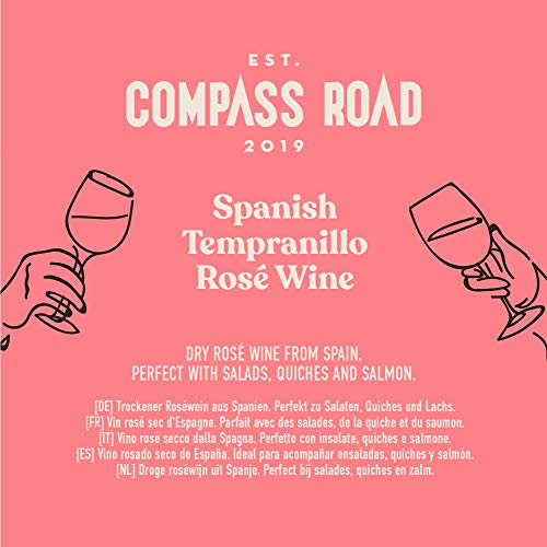 Amazon-Marke - Compass Road Roséwein Tempranillo Rosé trocken, Spanien (Bag in Box), 5L - 4