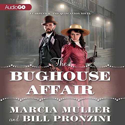 The Bughouse Affair audiobook cover art