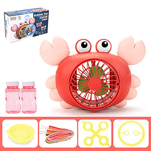 Wendao, giocattolo portatile a prova di perdite, a forma di granchio dei cartoni animati multifunzionale, giocattolo elettrico per bambini