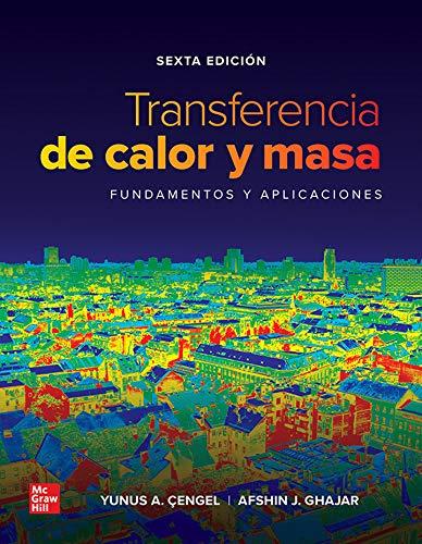Transferencia Calor Masa Fndmts Aplic Con Connect 12 Meses