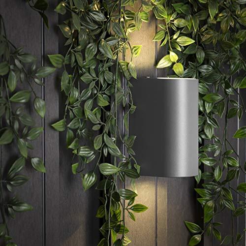 Applique murale Smartwares 5000.331 Bastia - LED double - Aluminium