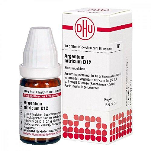 DHU Argentum nitricum D12, 10 g Globuli